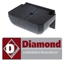 502650106 - OPVANGBAK+ROOSTER VOOR DIAMOND SLUSH CAR/1 - ZWART