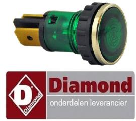 VE337663.043.00 - Signaallamp groen friteuse DIAMOND E65 - F20-7T