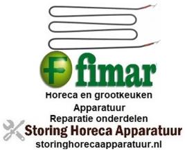 459417748 - Verwarmingselement 1200 Watt - 230 Volt voor Bain-Marie FIMAR