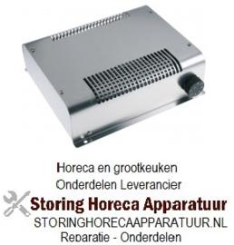 041419221 - Verwarmings unit voor warmtekast 2000W 230V 50Hz  30-90°C