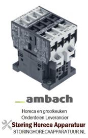 886381082 - Relais AC1 25A 230VAC (AC3/400V) 14A/5,5kW AMBACH