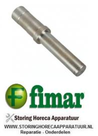 697SL0072 - As voor deegmenger ø 20mm D1 ø 25mm L 138mm FIMAR 25-38 S-C-F