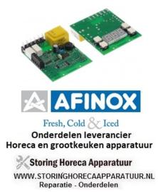 37474701062 - Displayprintplaat schokvriezer CT1TM0010003 L 90mm B 80mm passend voor AFINOX