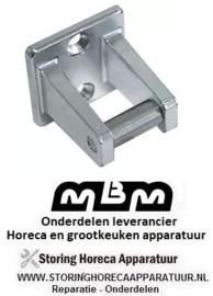886690040 - Tegenstuk met rol bevestigingsafstand 26 mm MBM