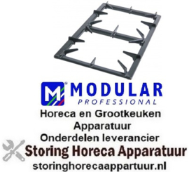 BRANDERROOSTER MODULAR HORECA EN GROOTKEUKEN APPARATUUR REPARATIE ONDERDELEN
