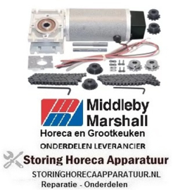 994S0036214 - Motor voor ketting transportband oven Middleby-Marshall PS200VL