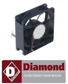 3296021050073 - VENTILATOR OP ZWARTE KADER DIAMOND BMIV20/TP