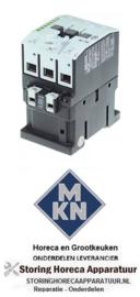 912380493 - relais AC1 55A 230VAC hoofdcontact 3NO voor MKN