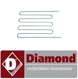 829A87RZ65043 - Verwarmingselement 2500W DIAMOND E3F/24R, EFP/4R, EFP/6R, EFP/44R, EFP/66R