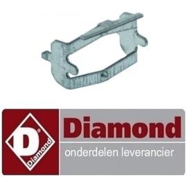 236RTBF900037- Verbindingsbeugel lang voor thermostaat  bakplaat DIAMOND  E77/PL4T-N
