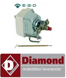 05191310050 - Maximaalthermostaat  500°C 1-polig 16A voeler ø 3,9mm voeler L 230mm pijp ø 870mm DIAMOND MACRO42