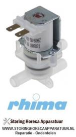 02351100021 -  2 weg ventiel tbv waterontharder DR 3x 11mm slang pilaar RHIMA DR50