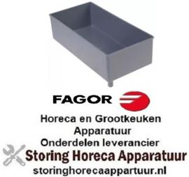951750067- Verdampingsbak L 255mm B 127mm H 70mm FAGOR