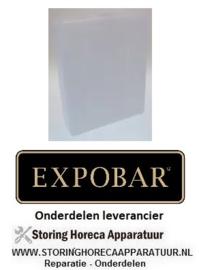 7008.40.51 - Kunststof container  h-245-3L  koffie - espressomachine EXPOBAR OFFICE 1 GR