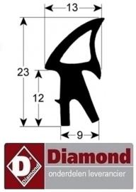 597269 - Deurrubber DIAMOND OVEN DFV-523