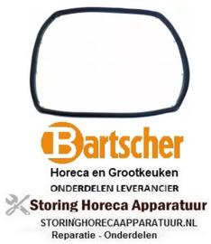 219901946 - Deurrubber B 320mm H 260mm met 8 bevestigingshaken voor oven BARTSCHER
