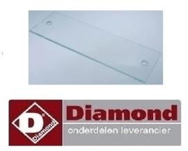 325010105‐5 - BESCHERMINGSGLAS VOOR LAMP VAN DIAMOND RVE/3C-CM