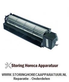 227601434 - Dwarsstroomventilator 300 mm R + kabel