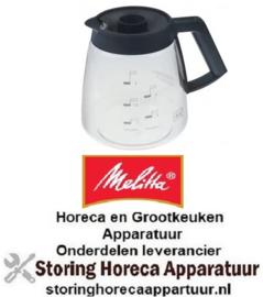 379960008 - Koffiepot 2,2 liter glas passend voor MELITTA