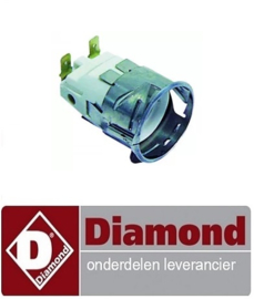 9589.13101.85 - lampfitting fitting E14 220-230V inbouw ø 35,5mm  6,3mm 15W DIAMOND MACRO42
