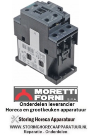 39374550500 - Relais AC1 40A 230VAC (AC3/400V) 12A/5,5kW voor pizza oven MORRETI T75E