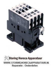 382380263 - Magneetschakelaar relais AC1 32A 230VAC (AC3/400V) 17A/7,5kW hoofdcontact 4NO aansluiting schroefaansluiting