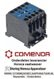 121120461 - Relais AC1 20A 230VAC (AC3/400V) 8,5A/5,5kW vaatwasser COMENDA BC2E