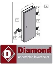 ST944401003 - BOUTEN VOOR SCHARNIER KOEL - VRIESCEL DIAMOND