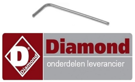 451A11.033 - Stift voor slagroommachine DIAMOND MCV/2