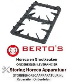 102210161 - Branderrooster B 385mm L 580mm BERTOS
