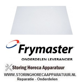 263970749 - Frituur oliefilter voor friteuse papier 100 stuks FRYMASTER