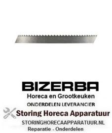 126699050 - BIZERBA zaagband L 2430mm B 16mm dikte 0,5mm tandafstand 6mm