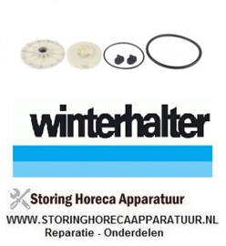 50260003592 -  Impellor set voor pomp 60Hz WINTERHALTER
