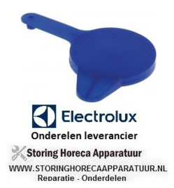 489551439 - Afsluitdop voor chemie container blauw passend voor combi-steamer ELECTROLUX