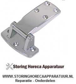 015690288 - Scharnier type 4480 overslag 28mm totale hoogte 38mm totale lengte 111mm B 80mm
