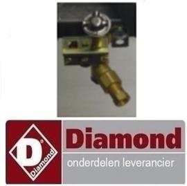 089G012 - Waakvlambrander CHINA Woktafel 3 vlammen DIAMOND CHINA