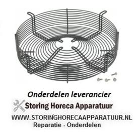 1533240.559 - Rooster voor ventilatorblad ø 330 mm H 85 mm bevestigingsafstand 1 405 mm