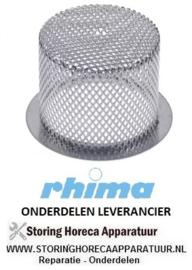 95050800029 - Rondfilter RHIMA OPTIMA 500