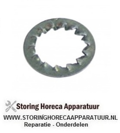 278520228 - Tandring ID ø 15,3mm AD ø 24mm staal vpe 1stuk voor draad M14