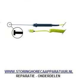 ST1800108 - Oppervlaktevoeler met spiraalkabel -50 tot +1000°C K tolerantie 1,5°C tot 400°C% type 101