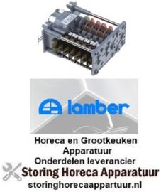 911360500 - Timer CDC 7806M motoren 1 kamers 6 looptijd 150s - 230V LAMBER