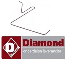 4800C9553 - Waakvlamleiding pijp voor gasfornuis DIAMOND G17/4F8T-N