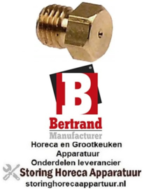 199G063 - Gasinspuiter propaangas voor soepbrander woktafel BERTRAND