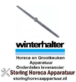 941524632 - Naspoelarm L 495mm sproeiers 7 voor vaatwasser Winterhalter
