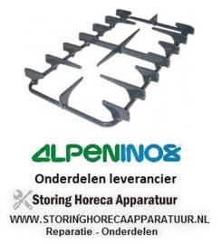 148002446 - Branderrooster B 340mm L 595mm ALPENINOX 174081