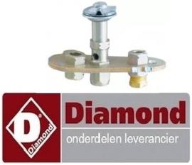 012.256.018.00 - Waakvlambrander voor lavasteengrill DIAMOND