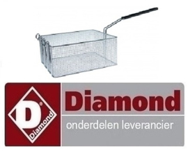 413006539 - Friteusekorf breed 285 mm DIAMOND FRITESUE E22/F46-A8