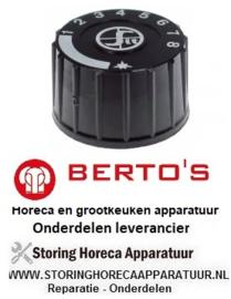 06832652600 - Knop passend gas friteuse  BERTO'S GL10+10M