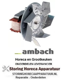 166601054 - Heteluchtventilator 220-240V 32W 50/60Hz ventilatorblad ø 150 mm AMBACH