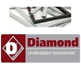 200900598 - Koeldeurrubber voor Diamond koelkast HD70A-CE-NE